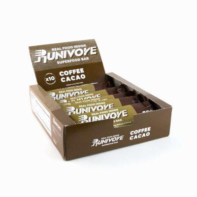 Runivore 咖啡可可子能量棒 (10入) – 含有香濃咖啡與美味可可子的運動能量棒