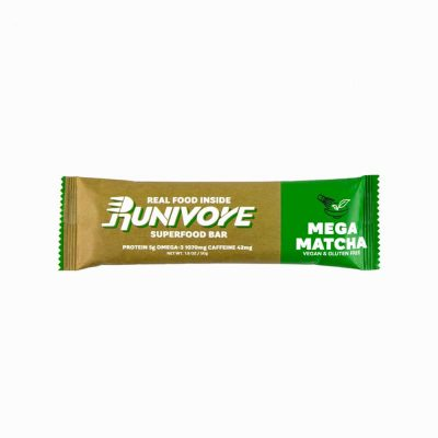 Runivore Mega Matcha Superfood Bar (1 Bar) – Delicious Green Tea Energy Bar