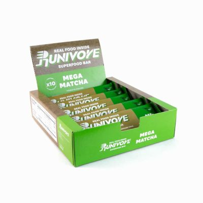 Runivore 甘甜抹茶能量棒 (10入)