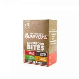 Runivore 綜合能量小口包 – 椰棗原味、咖啡可可子、甘甜抹茶、橙香杏子四種口味可任意混搭