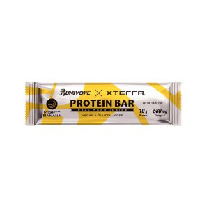 XTERRA x RUNIVORE Mighty Banana Protein Bar (1 Bar) – Mightiest of foods for real recovery