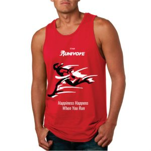 Runivore – BREAK THE TAPE – Racing Tank Top